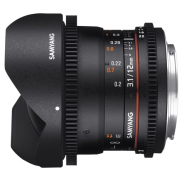 Ремонт Samyang 12mm T3.1 ED AS NCS VDSLR Fish-eye